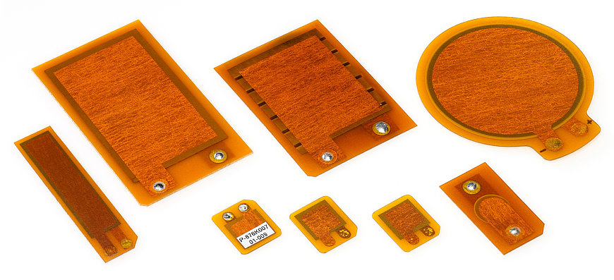 DuraAct patch transducers can be manufactured in various shapes.