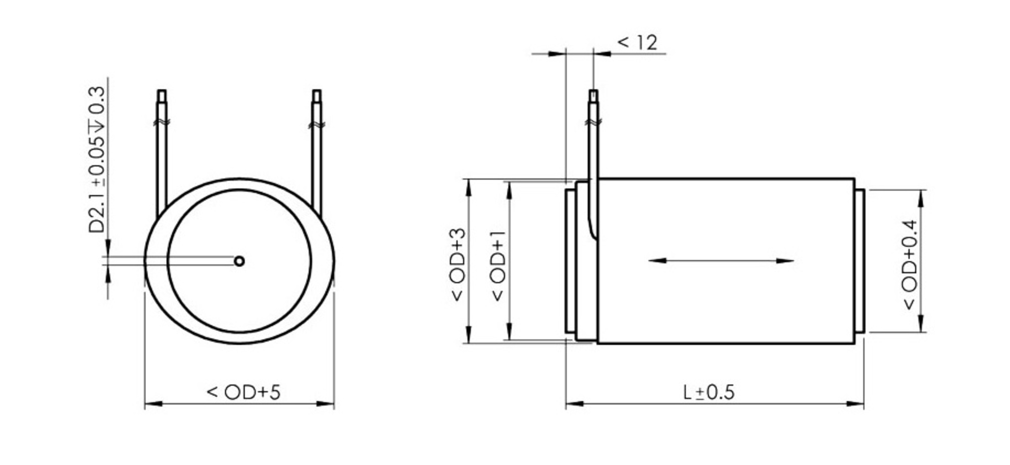 P 007 056 Pica Stack Piezo Actuators Rod Wiring Diagrams The Protective Polymer Layer Can Be Dyed In Different Colors Standard Versions Are Delivered With Stranded Wires And Covered Black