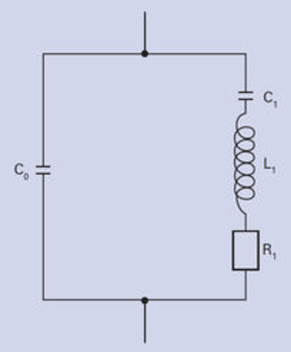 Fundamentals Of Piezo Technology F To V Converter Circuit Diagram Equivalent A Piezoelectric Resonator